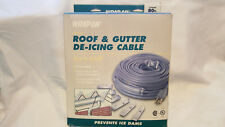 Wrap-On Electric Roof & Gutter De-Icing Cable (14080) 80ft 400watts 3.33am@120V