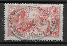 Great Britain , 1913 , No.174 , 5sh Stamp , Perf , Used , Cv$375