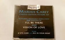 MARIAH CAREY I`ll Be There 4 Track Maxi CD 658137-9 UK CD2 Picture CD Ltd RAR