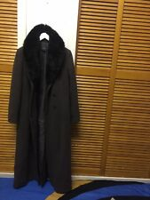"""ALEX&CO LADIES WINTER DOUBLE BREASTED  TRENCH COAT JACKET SIZE U.K 12 EUR 40"""""""