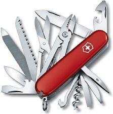 NEW SWISS ARMY 53722 HANDYMAN RED VICTORINOX MULTI TOOL KNIFE SALE