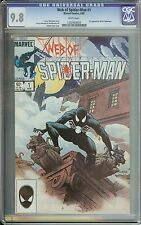 WEB OF SPIDER-MAN #1 CGC 9.8 WHITE PAGES // 1ST APPEARANCE OF THE VULTURIONS