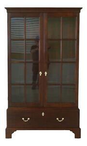 51009EC: STICKLEY Colonial Williamsburg Mahogany Wythe Bookcase