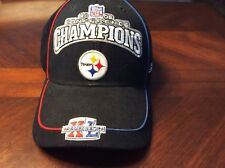 NFL Reebok 2005 Steelers Conference Champions Hat Superbowl