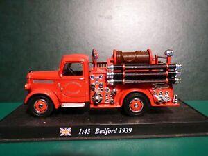 CAMION POMPIER BEDFORD DE 1949 FIRE ENGINE DELPRADO BOMBEIRO CITY OF LIVERPOOL