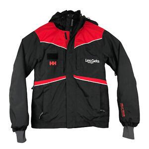 Helly Hansen Men's Ski /Snowboard Jacket Coat Helly Tech Size S Black/Red
