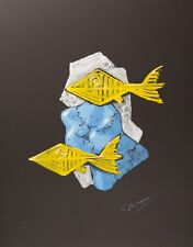 Georges Braque - Acheloos (signed lithograph, 1988)