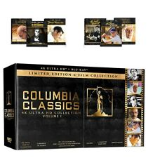 Columbia Classics Collection 4K-Uhd Blu-Ray Gift Set 6 Films ✅ 30 Hours Features