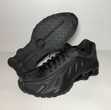 Nike Shox R4 Men's Size 7 Womens 8.5 Black Triple Black Retro Running BV1111 001
