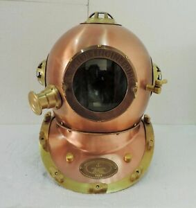 "Germany 1921-18"" Diving Helmet Antique Helmet Vintage Made By Anchor Engineering"