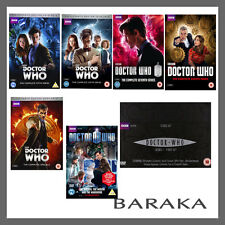 Doctor Who Complete Seasons Series 1, 2, 3, 4, 5, 6, 7 & 8 plus specials DVD