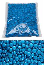 Choc Drops Blue 1 kg Milk Chocolate Beanies Smarties Buffet Wedding Birthday New