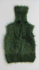 Pullunder * Pullover * Gr. XS / S * Oberteil * Shirt * Rollkragen grün Kunstfell