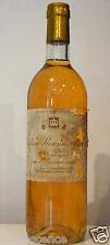 vin Chateau ROUMIEU LACOSTE 1982 Bordeaux Sauternes bouteille 75cl liquoreux