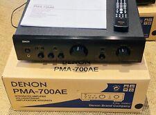 Integrated Amplifier Denon PMA 700AE Black