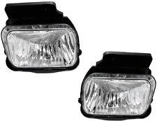 2004-2007 Silverado Avalanche Left & Right Foglight Foglamp Lamp Light Pair L+R