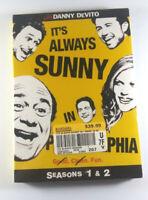 It's Always Sunny in Philadelphia - Seasons 1 & 2 (DVD, 2009, 3-Disc Set) New