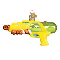 Old World Christmas SQUIRT GUN (44114)X Glass Ornament w/OWC Box