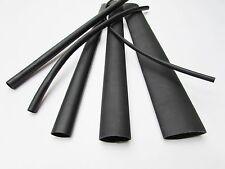 6FT Black Heat Shrink Tube Assortment 3:1 Dual Wall Adhesive Glue Line Marine/to