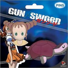 *NEW* Gun X Sword: Wendy & Turtle Pin (Set of 2) by GE Animation