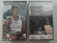 Bobby Brown (2 SEALED Cassette Lot) NM