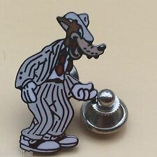 Pin's Folies *** Rare enamel pin badge Tex Avery collection The wolf -