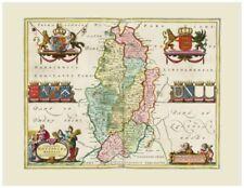 Canvas Reproduction Map Art Prints