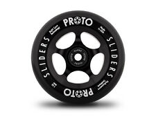 Proto Classic Sliders Wheels 110mm - Black on Black (Pair)