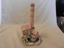 Derbyshire Mill by David Winter Collectible Building Statue from 1987 England