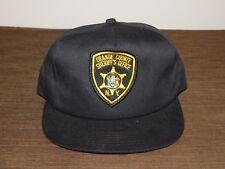 POLICE BASEBALL CAP HAT ORANGE COUNTY SHERIFF'S OFFICE NY NEW UNUSED