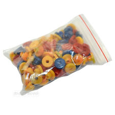 Tattoo Needle Gun Armature Bar Full Colour Top Hat Nipple Grommets 100Pcs/bag