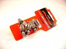 Jubilee Tubo Flessibile Morsetto Clips 12mm - 20mm x 5, Acciaio Inox