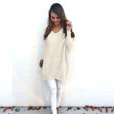 NEW Fashion Womens Long Sleeve Knit Sweater Casual Knitwear Jumper Pullover Tops