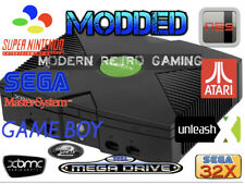 Modded Original Xbox Console Upgraded with games pre-installed
