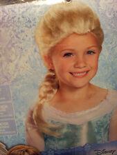 Disney-Princess-Elsa-Frozen-Character-Costume-Wig-Dress-up-Pretend-Play-Disguise