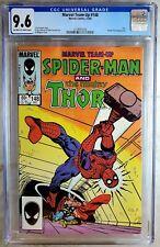 Marvel Team-Up #148 Thor Human Torch 1984 CGC 9.6 NM+ Off-White/WP Comic V0116