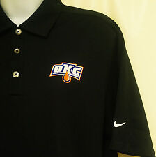 AHL Oklahoma City Barons Edmonton Oilers Defunct Nike Golf Dri-Fit S Polo Shirt