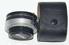 Vivitar 35mm Film Camera Automatic Tele Converter 2X-5 in Case