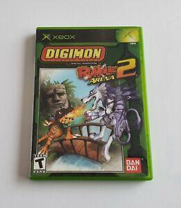 Digimon Rumble Arena 2 Xbox Original - BOX ONLY