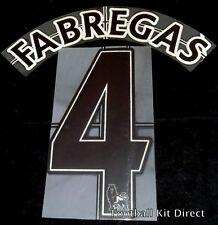 Premier League Arsenal el 4 Camiseta de fútbol nombre conjunto de distancia