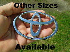 "TOYOTA 100mm Genuine Badge 4"" Emblem OTHER SIZES AVAILABLE *Good Cond* Camry etc"