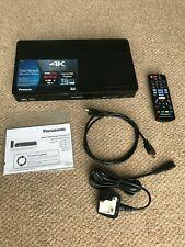 PANASONIC 4K ULTRA HD UPSCALLING BLU RAY-3D-DVD PLAYER