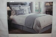 Quilt Luxury Hotel Estate $249 Slate Blue King Size  NEW NWT