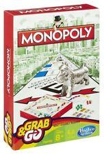 GENUINE HASBRO MONOPOLY GRAB N GO TABLE GAME -Free post