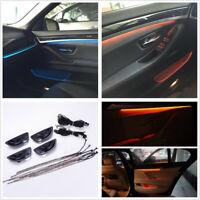 2 Colors Car Interior Decor LED Door Light Strip Atmosphere Lamp For BMW F10/F11