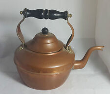 Beautiful Antique Victorian Large Copper Kettle (Height - 22 cm)