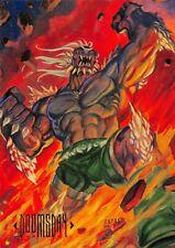 DOOMSDAY / DC Comics Master Series (1994) BASE Trading Card #9
