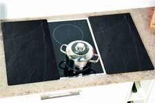 2 Kesper Herd-Abdeckplatte Glas Schneidebrett Ceranfeld-Abdeckung Herdabdeckung