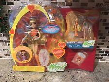 Winx Club Mattel Pixie Magic Stella & Mini Dolls