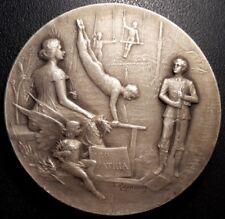 Médaille - Pro Patria - Concours de gymnastique - Nogent-Le-Rotrou 1910 Rasumny